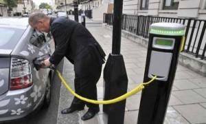 elektrikli otomobil şarj