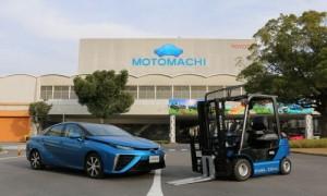 Mirai ve Toyota Yakit Hucreli Forklift