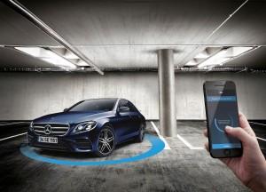 Mercedes-Benz E-Serisi akıllı park özelliği