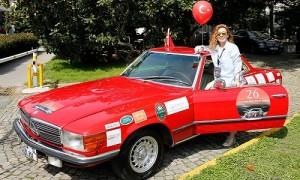 Mercedes-Benz Bahar Rallisi 2017 Başladı - Kadın Pilot Naime Tercan