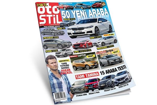 28d0cbbf379fc Araba dergisi otostil Eylül sayısı 50 yeni araba ve 15 test ile çıktı