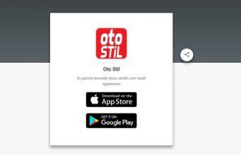 otostil aplikasyon yayında
