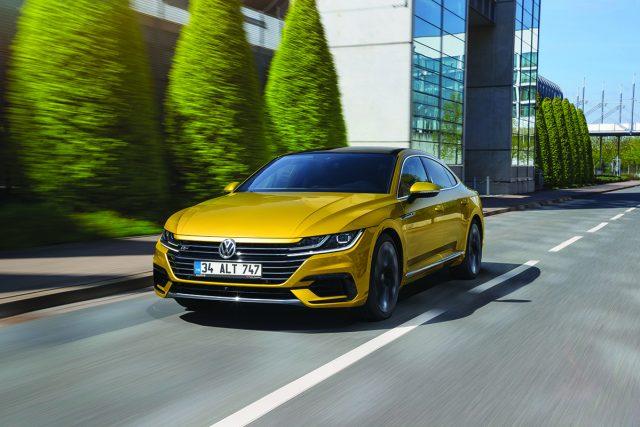 Volkswagen Arteon otostil testinde