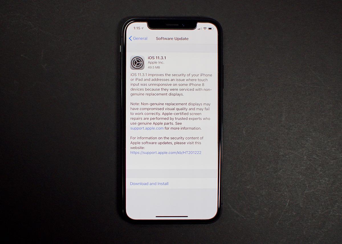 iphone 8 Plus yazılım güncelleme gelmiyor