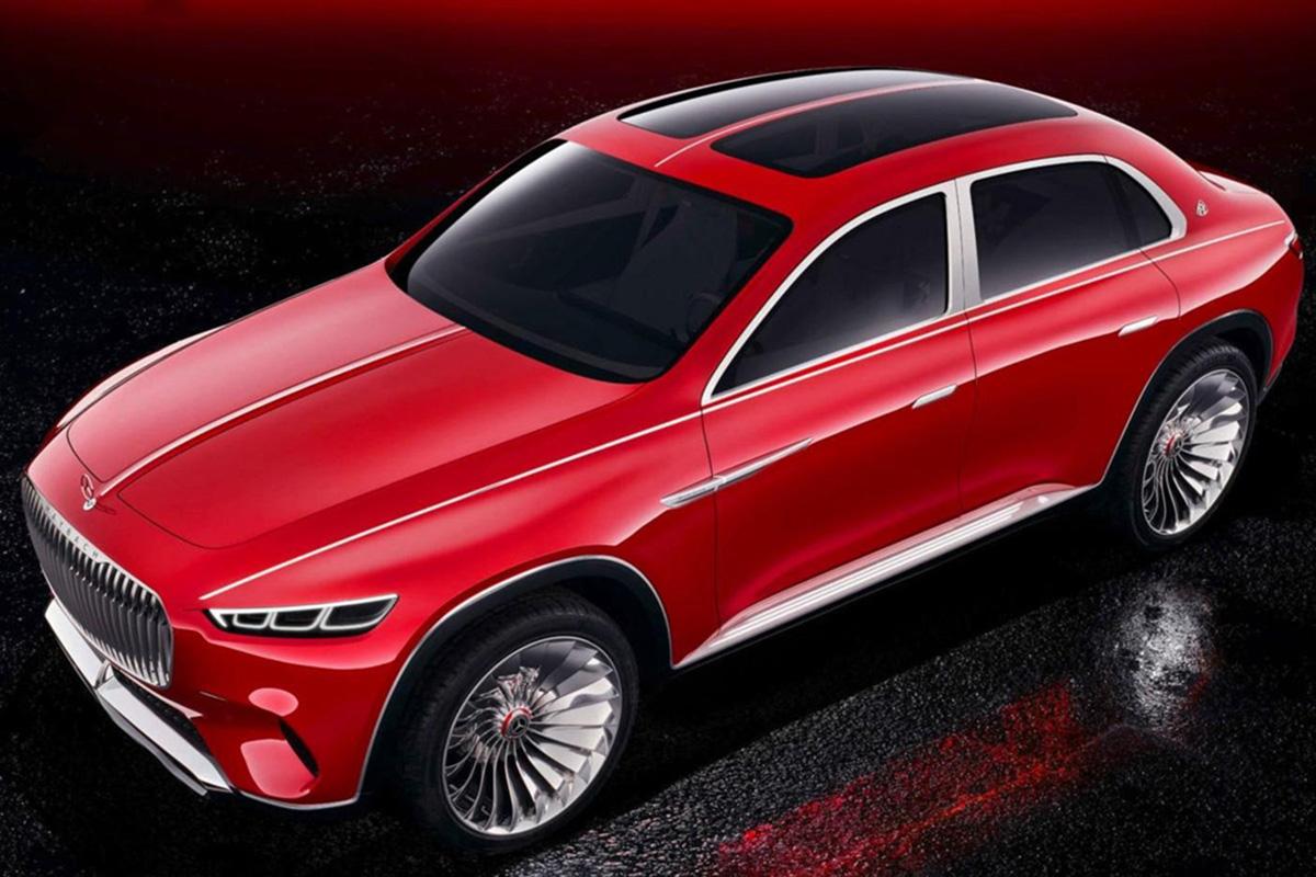 Mercedes Maybach SUV görüntüleri sızdırıldı otostil dergisi