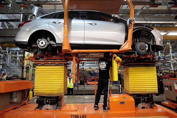 Ford üretim tesisi kapattı