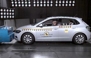 Volkswagen Polo çarpışma testi