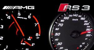 Audi RS3 Mercedes A45 AMG karşılaştırma