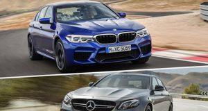 BMW M5 Mercedes E63 S AMG karşılaştırma
