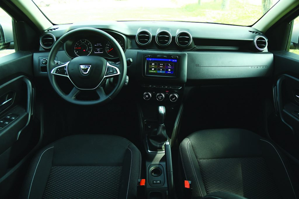 Dacia Duster EDC otostil testi