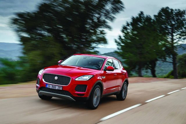 Jaguar E-Pace test