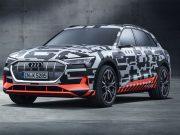 Audi E-Tron menzinli