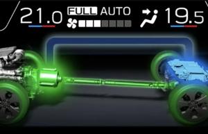 Hibrit Subaru Forester