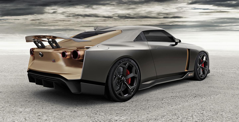 Nissan Gtr50 Italdesign Spor Arabalar Superspor Arabalar Otostil Com