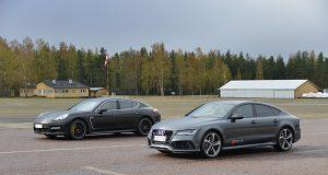 Panamera Turbo vs Audi Rs7
