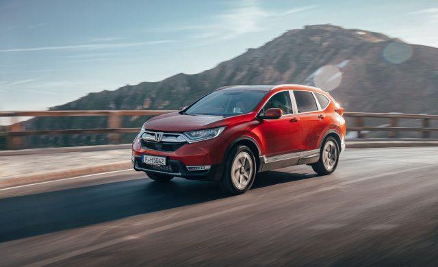 Yeni Honda CR-V testi