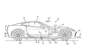 GM Corvette patenti