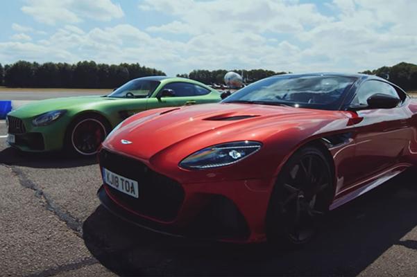Aston Martin Mercedes karşılaştırması