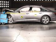 Audi A6 çarpışma testi