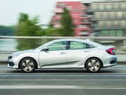 Honda Civic Eco testi