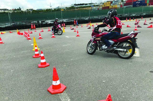 Honda Motosiklet eğitimi