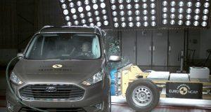 Ford Tourneo Connect çarpışma testi