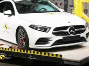 Mercedes A Serisi çarpışma testi