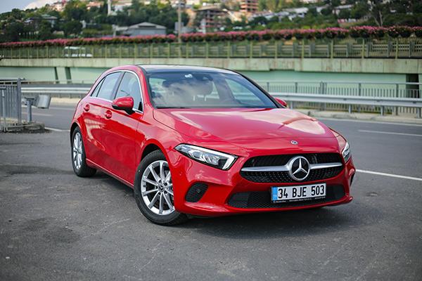 Mercedes A180 test
