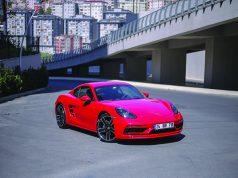 Porsche Cayman test