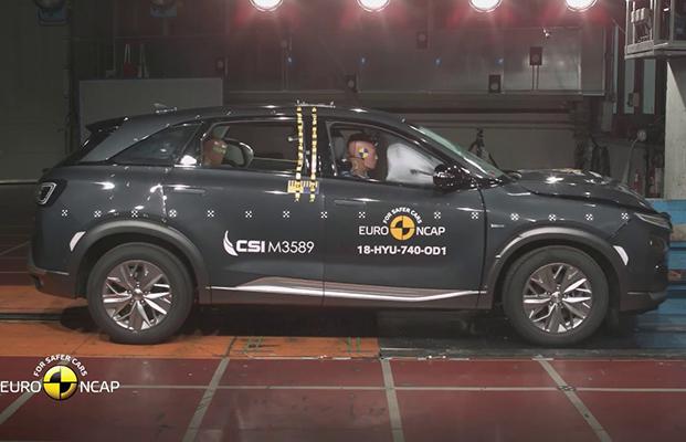 Hyundai Nexo çarpışma testi