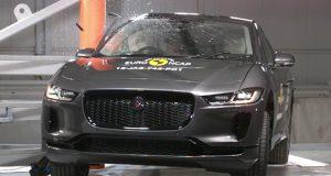 Jaguar i-Pace çarpışma testi