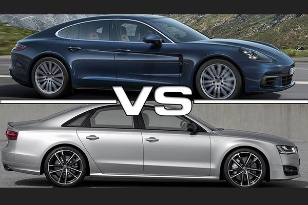 Panamera Turbo vs Audi S8 Plus karşılaştırma