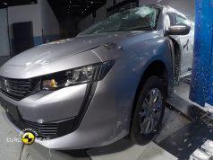 Peugeot 508 çarpışma testi