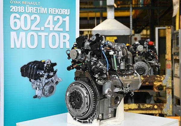 Renault motor üretimi
