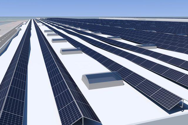 Audi güneş enerjisi