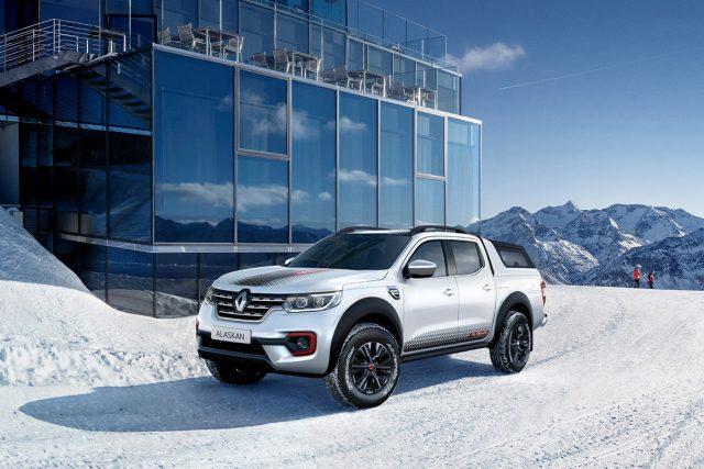 Renault Alaskan Ice
