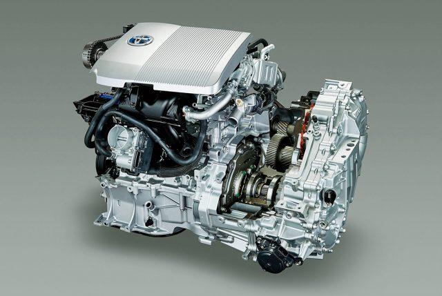 Toyota hibrit patent