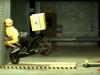 Scooter çarpışma testi