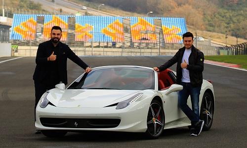 Mustafa Ceceli Ferrari'nin hikayesini anlattı