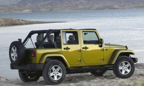 Jeep Wrangler Cabrio SUV istilası başlattı