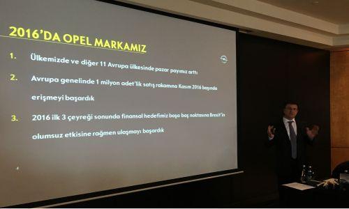 """""""Pazar küçülse de Opel Türkiye 60 bin satar"""""""