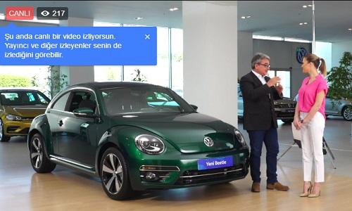 Yeni VW Beetle Facebook'tan tanıtılıyor