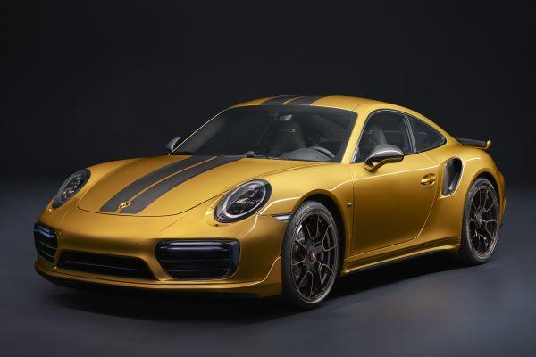 Porsche 911 Turbo S Exclusive'e sadece 500 kişi sahip olabilecek