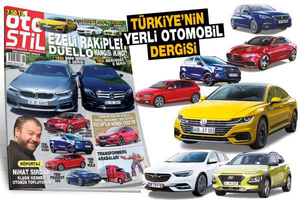 Araba dergisi otostil Temmuz-Ağustos sayısı çıktı
