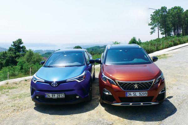 Peugeot 3008 mi? Toyota C-HR Hibrit mi? otostil karşılaştırması