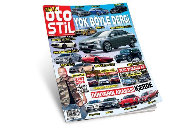 Araba dergisi otostil Aralık sayısı kaçmaz