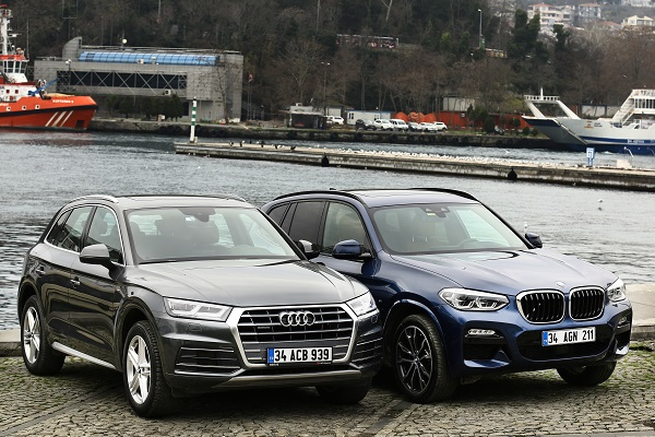 Yeni Audi Q5 mi? Yeni BMW X3 mü? otostil karşılaştırması