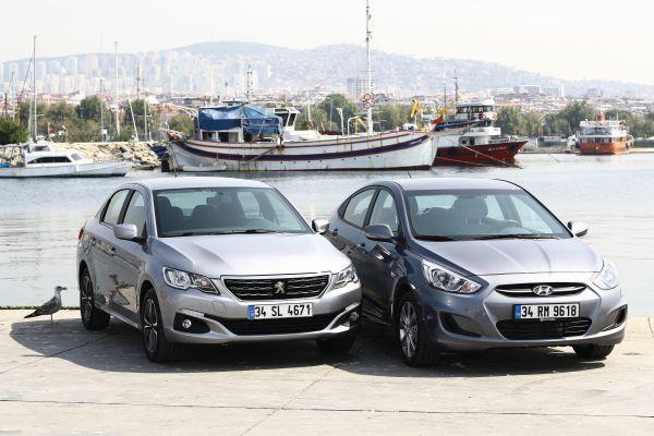 Hyundai Accent mi? Peugeot 301 mi? otostil karşılaştırması