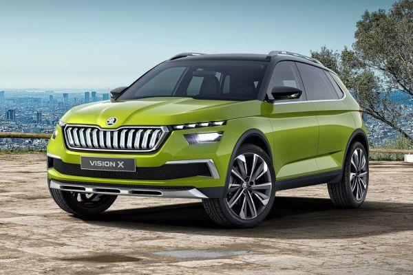 Skoda'nın yeni küçük SUV'u Vision X seneye yollarda olacak