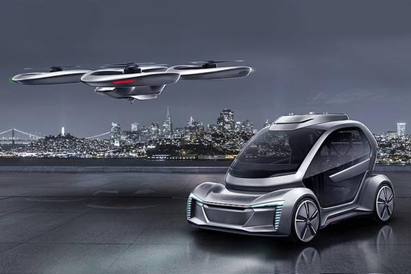 Audi'nin uçan otomobili test için onayı kaptı
